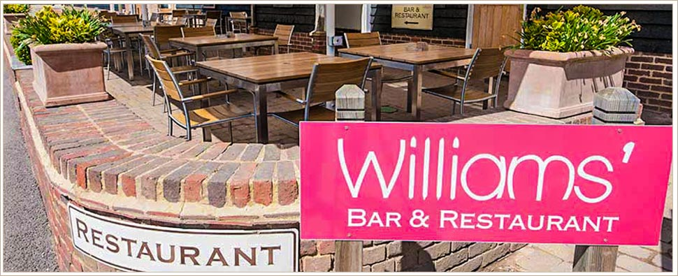 The Williams Restaurant at Tewinbury Farm Hotel